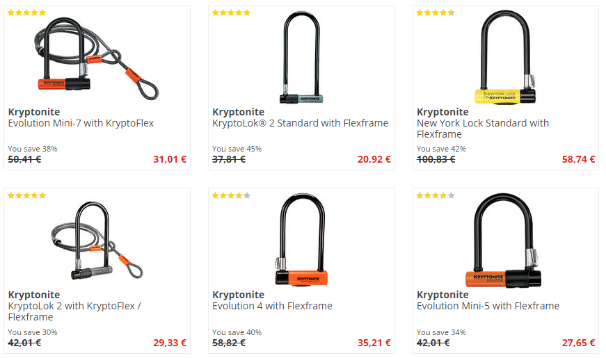 bike-discount.de Kryptonite